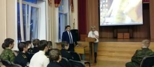 Выступление Казанова в кадетском корпусе
