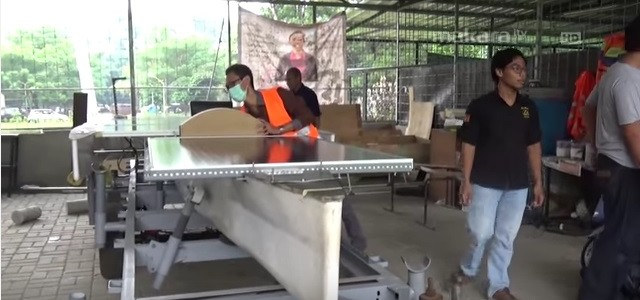 Разработка гоночной лодки индонезийскими студентами