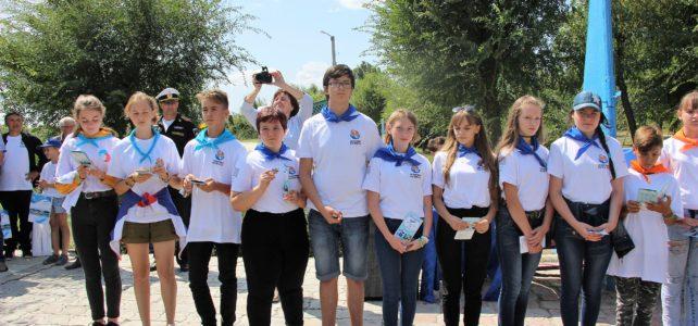 В ДОЛ «Чайка» состоялся научно-просветительский фестиваль «Эковолна»